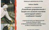 Tiger-Stal Nowy Sącz - certyfikaty (3/8)