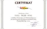 Tiger-Stal Nowy Sącz - certyfikaty (5/8)