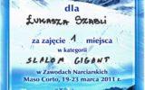 Tiger-Stal Nowy Sącz - certyfikaty (6/8)
