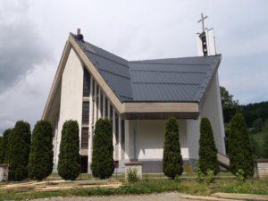 Blacha aluminiowa - kościół